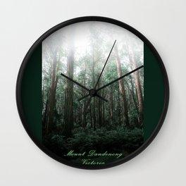Mount Dandenong, Victoria Wall Clock