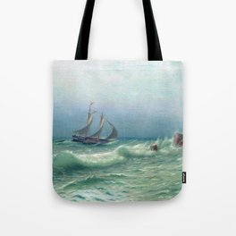 Happyness Of Meeting 1903 By Lev Lagorio | Reproduction | Russian Romanticism Painter Tote Bag
