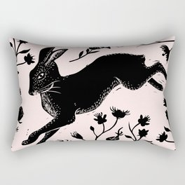 Hare & Vines Rectangular Pillow