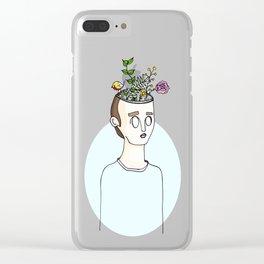 Creative Mind Clear iPhone Case