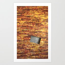 Fire and Shadow Art Print