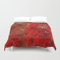 earth Duvet Covers featuring Earth by Saundra Myles