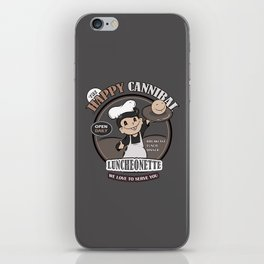 The Happy Cannibal iPhone Skin