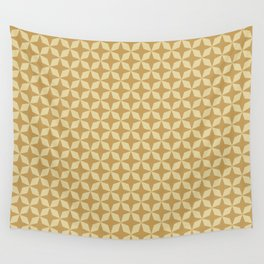 Gold Stars Wall Tapestry