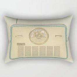 Radio Days Rectangular Pillow