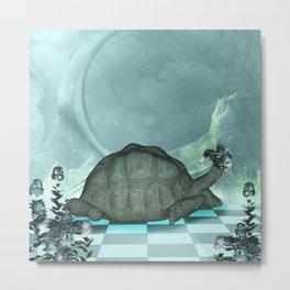The awesome turtledragon  Metal Print