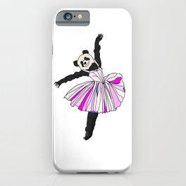 Panda Bear Ballerina Tutu iPhone Case