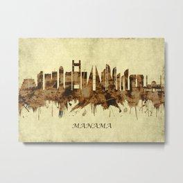 Manama Bahrain Cityscape Metal Print