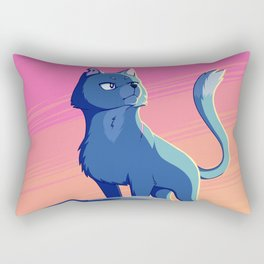 A Blue Leader Rectangular Pillow