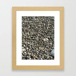 Stone Patterns Framed Art Print