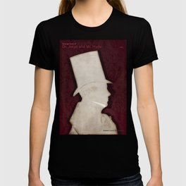 Robert Louis Stevenson, Dr. Jekyll and Mr. Hyde - Minimalist Literary Design T-shirt