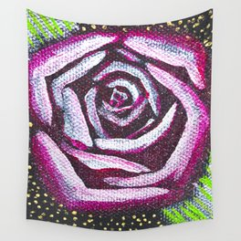 Glamour Rose - Mazuir Ross Wall Tapestry