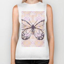 butterfly/motives/colorful/pattern/oldie Biker Tank