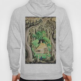 1925 Classical Masterpiece 'Hansel and Gretel by Brothers Grimm' by Kay Nielsen Hoody