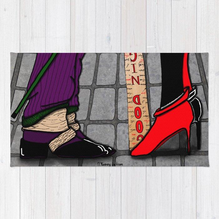 Harley 'n Joker Rug