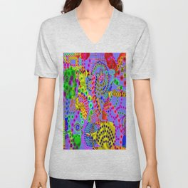 Coral Sea Life, from Mickeys Art And Design.Biz Unisex V-Neck