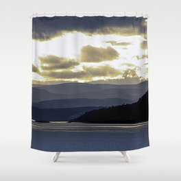 Back to the Island mk1 Shower Curtain