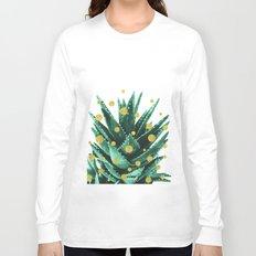 Christmas Succulent Long Sleeve T-shirt