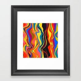 African Heat Framed Art Print