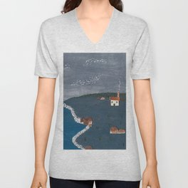 Home by the Sea Unisex V-Neck