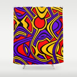 Harlequin Shower Curtain