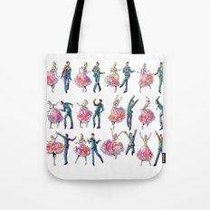 Sock Hop Tote Bag