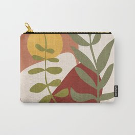 Two Abstract Branches Carry-All Pouch