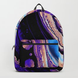 LUNAR SURFACE ON A SATURDAY NIGHT Backpack