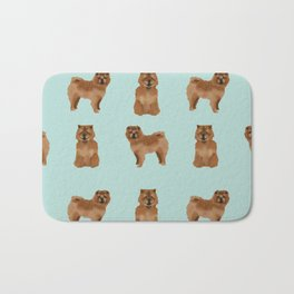 Chow Chow dog breed pure breed pet gifts must have doggo pupper lovers Bath Mat