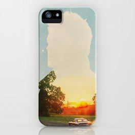 Dean Winchester Supernatural Impala  iPhone Case