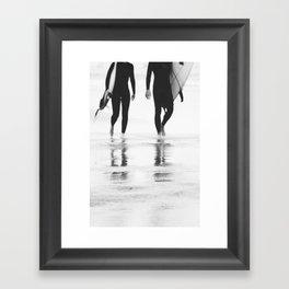 Catch a wave III Framed Art Print