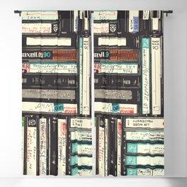Cassettes Blackout Curtain