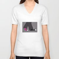 converse V-neck T-shirts featuring Converse Love by Deesign