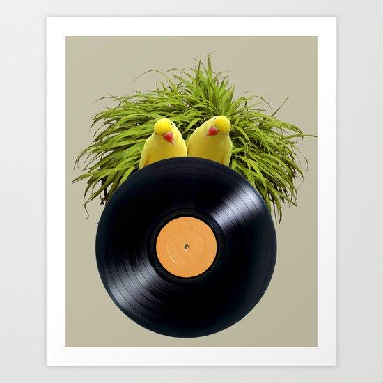 Summer Sound System Art Print