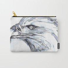 Eagle Portrait (Watercolor Sketch) Carry-All Pouch