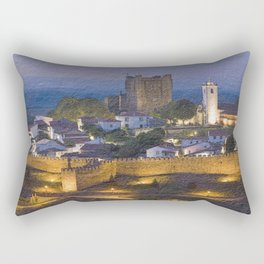 twilight at Braganca, Portugal Rectangular Pillow