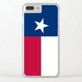 Texas: State Flag of Texas Clear iPhone Case