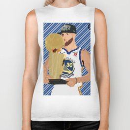 Steph Curry 3 time champion Biker Tank