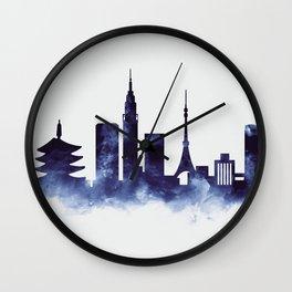 Tokyo Skyline Wall Clock
