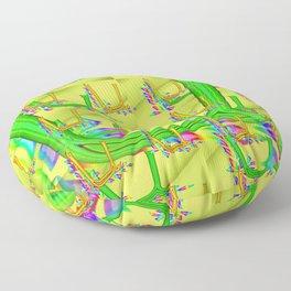 U - pattern 2 Floor Pillow