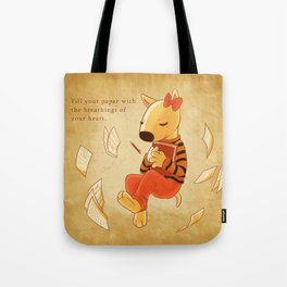 The Breathings of Your Heart Tote Bag