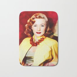 Gloria Grahame, Vintage Actress Bath Mat
