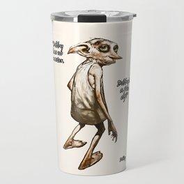 Dobby is a free elf Travel Mug