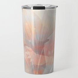 Floral Astract Travel Mug