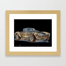 1965 Shelby AC Cobra Framed Art Print