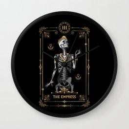The Empress III Tarot Card Wall Clock
