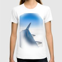 airplane T-shirts featuring Airplane by Fernando Derkoski