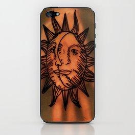 Sun Hand. iPhone Skin