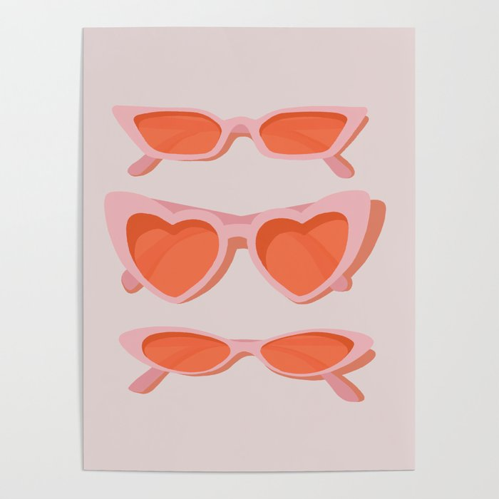 rose tinted Poster