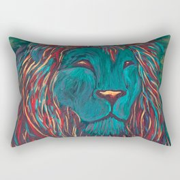 Lion of Judah Rectangular Pillow